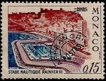 Stamps Monaco -  Estadio Nautico Rainiero III