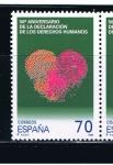 Sellos de Europa - España -  Edifil  3607  Derechos Humanos.