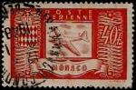 Stamps Monaco -  Aviación