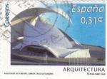 Sellos del Mundo : Europa : España :  ARQUITECTURA- Auditorio de Tenerife- Santa Cruz de Tenerife   (R)