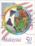 Stamps Malaysia -  Campeonato de Futbol Malasia-97