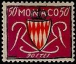 Stamps Monaco -  Escudo