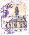 Sellos de America - Chile -  IGLESIAS DE CHILOE- Iglesia de Quinchao