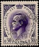Sellos de Europa - Mónaco -  Principe Rainiero