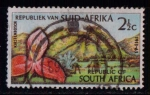 Sellos del Mundo : Africa : Sudáfrica : Flora