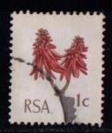 Sellos de Africa - Sudáfrica -  Flora