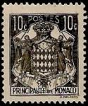 Sellos de Europa - Mónaco -  Escudo