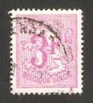Stamps Belgium -  1545 - León heráldico