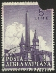 Stamps Europe - Vatican City -  POSTA AEREA VATICANA