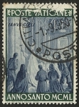 Stamps Vatican City -  ANNO SANTO MCML