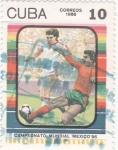 Sellos de America - Cuba -  CAMPEONATO MUNDIAL DE FUTBOL MÉXICO'86