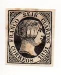 Stamps Europe - Spain -  EDIFIL-6 NUEVO