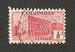 Stamps : America : Colombia :  334 - Palacio de Comunicaciones