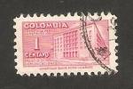 Stamps : America : Colombia :  439 - Palacio de Comunicaciones