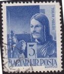 Sellos de Europa - Hungría -  614 - Toldi Miklos