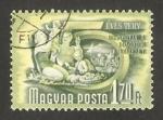 Sellos de Europa - Hungría -  Trabajadores de vacaciones
