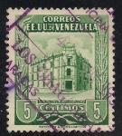 Sellos de America - Venezuela -  OFICINA DE CORREOS, CARACAS. (EE.UU de Venezuela)