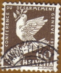 Stamps Europe - Switzerland -  Conferencia Desarme GENEVE 1932