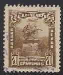Sellos de America - Venezuela -  ESTATUA DE SIMÓN BOLIVAR, CARACAS.