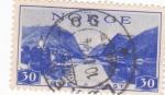 Stamps Norway -  PAISAJE FIORDOS