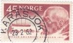 Stamps Norway -  ROALD AMUNDSEN- 1911