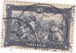 Stamps Norway -  BATALLA DE STIKLESTAD -1030