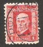Sellos de Europa - Checoslovaquia -  219 - Presidente Masaryk