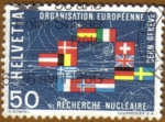 Stamps Switzerland -  CONGRESO NUCLEAR