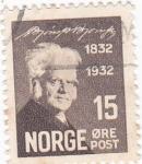 Sellos de Europa - Noruega -  CENTENARIO 1832-1932