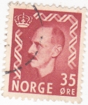 Stamps : Europe : Norway :  HAAKON  VII