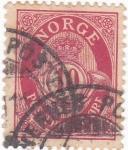 Stamps : Europe : Norway :  CORNETA Y CIFRAS