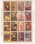 Stamps United Arab Emirates -  PINTURAS FAMOSAS DE LA VIDA DE CRISTO-  UMM AL QIWAIN