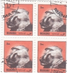 Sellos de Asia - Bahrein -  ANIMALES SALVAJES- MANAMA