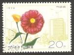 Sellos de Asia - Corea del norte -  1360 - Flor
