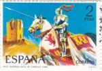 Stamps of the world : Spain :  Guardia Vieja de Castilla 1493-UNIFORMES MILITARES   (S)