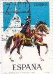 Stamps of the world : Spain :  Herreruelo 1560-UNIFORMES MILITARES   (S)