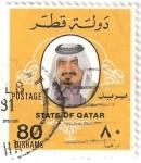 Stamps Asia - Qatar -  Rey