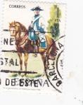 Stamps of the world : Spain :  Regimiento de Montesa 1788-UNIFORMES MILITARES   (S)