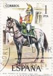 Sellos de Europa - España -  Trompeta de Alcántara de Línea 1815-UNIFORMES MILITARES   (S)