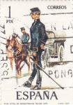 Sellos de Europa - España -  Oficial de Administración Militar 1875-UNIFORMES MILITARES   (S)