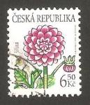 Stamps Czech Republic -  351 - Flor dalia