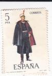 Stamps Spain -  Capitán de Ingenieros  1921-UNIFORMES MILITARES   (S)