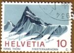 Stamps Europe - Switzerland -  Finsteraarhorn