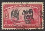 Sellos de America - Costa Rica -  VISTA DE SAN RAMÓN.