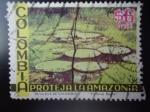 Sellos de America - Colombia -  Proteja la Amazonía - Lirio de Agua Gigante