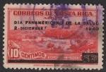 Sellos de America - Costa Rica -  DÍA PANAMERICANO DE LA SALUD 2 de diciembre de 1940.