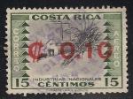 Sellos de America - Costa Rica -  INDUSTRIAS NACIONALES: AZUCAR
