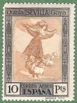 Stamps of the world : Spain :  Quinta de Goya en la Expo. de Sevilla.-Edifil 529