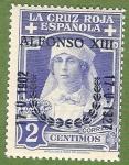 Stamps Spain -  XXV Aniv. Jura de la Const. por Alfonso XIII.-Edifil 350