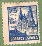 Stamps Spain -  Año Santo Compostelano, Edifil 969